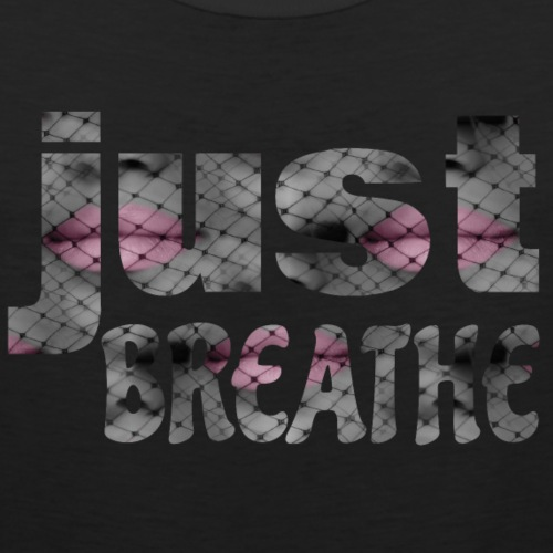 Just Breathe - Men's Premium Tank