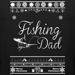 Merry Christmas Fishing Dad - Men's Premium Tank
