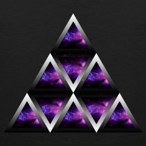 Space Shape Pyramid - Men's Premium Tank