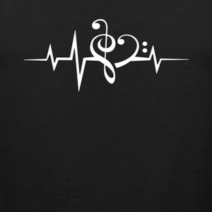 Music is Life For Women - Men's Premium Tank
