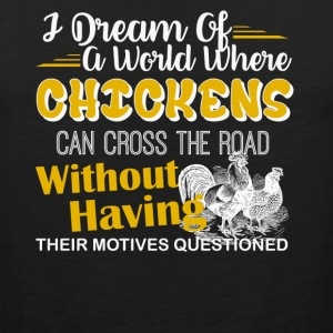 Chickens Shirt - Men's Premium Tank