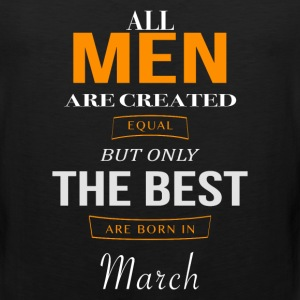 March Birthday - Men's Premium Tank
