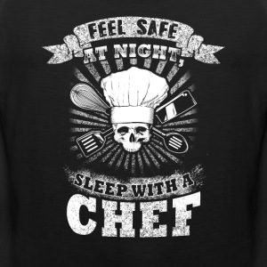 Sleep with a Chef T-Shirts - Men's Premium Tank