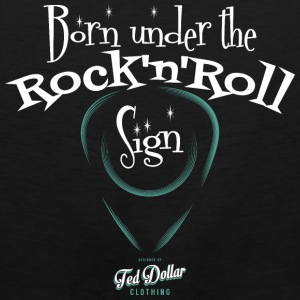 Born Under the Rock'n'Roll Sign - Men's Premium Tank