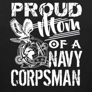 Navy Corpsman Mom Shirt - Men's Premium Tank