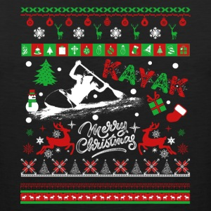 Kayak T shirt - Kayak Christmas Shirt - Men's Premium Tank