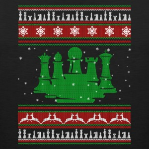 Chess T shirt - Chess Christmas Shirt - Men's Premium Tank