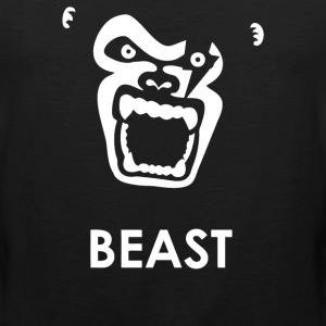 Instinct Attention Gorilla Beast - Men's Premium Tank