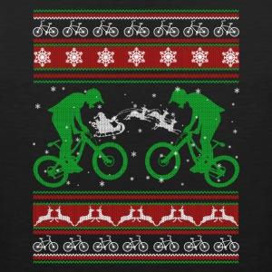 Bicycle Shirt - Bicycle Christmas Shirt - Men's Premium Tank