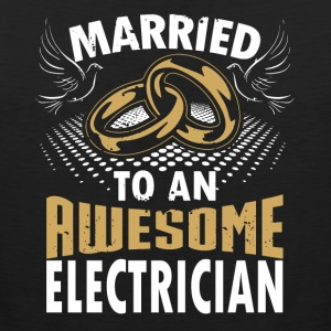 Married To An Awesome Electrician - Men's Premium Tank