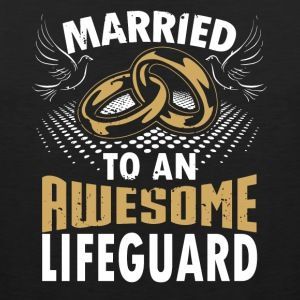 Married To An Awesome Lifeguard - Men's Premium Tank
