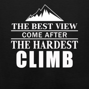Love Mountains Climbing Shirt - Men's Premium Tank