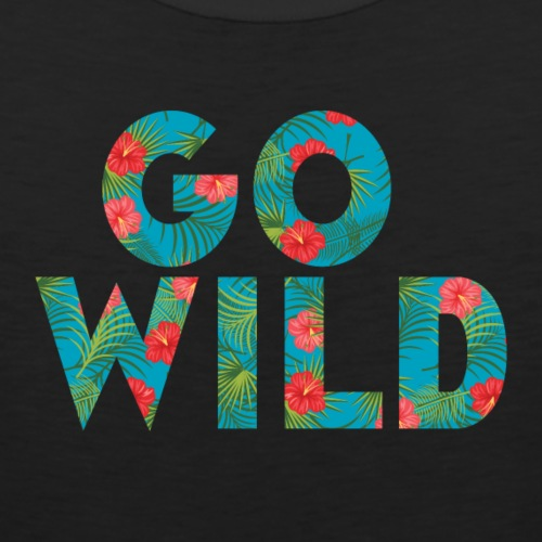 Go Wild Tropical - Men's Premium Tank