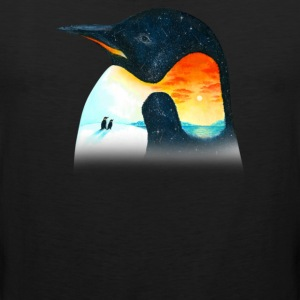 Penguin Sunset - Men's Premium Tank