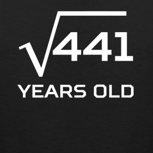Square Root 441 Funny 21 Years Old 21st Birthday - Men's Premium Tank
