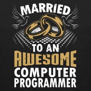 Married To An Awesome Computer Programmer - Men's Premium Tank
