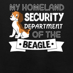 Beagle Shirt - Men's Premium Tank