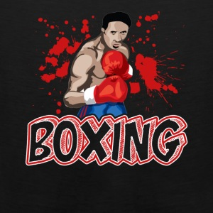 boxing tee shirt - Men's Premium Tank