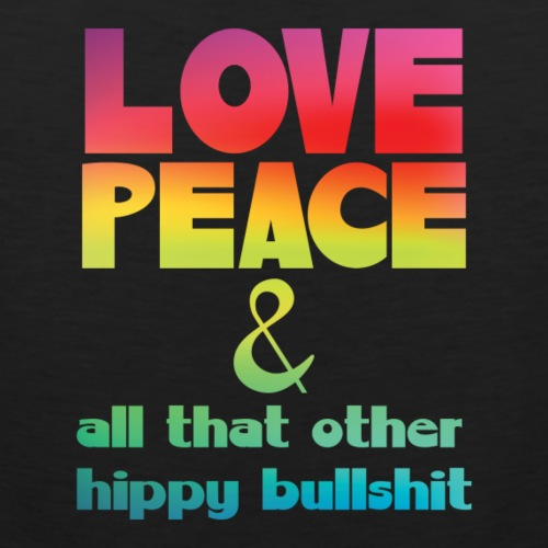 Love Peace Hippy Rainbow - Men's Premium Tank