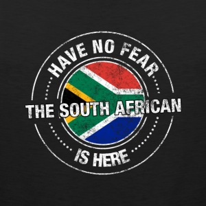 Have No Fear The South African Is Here Shirt - Men's Premium Tank