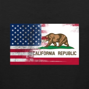 California American Flag Fusion - Men's Premium Tank