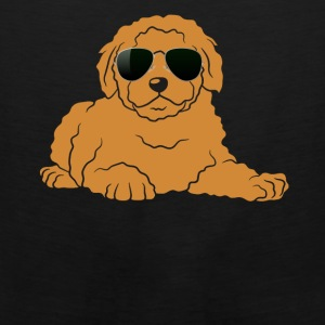 Doodle With Glasses Shirt - Men's Premium Tank