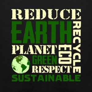 Earth Day Green Sustainable Tshirts - Men's Premium Tank