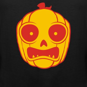 Frightened Jack O Lantern - Men's Premium Tank