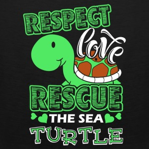 Sea Turtle Shirt - Men's Premium Tank