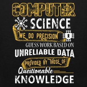 Computer Science Shirt - Men's Premium Tank