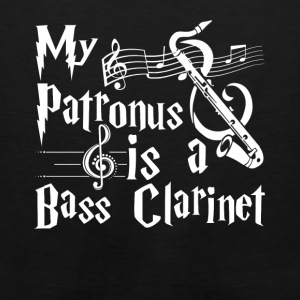 My Patronus Is A Bass Clarinet Tee Shirt - Men's Premium Tank