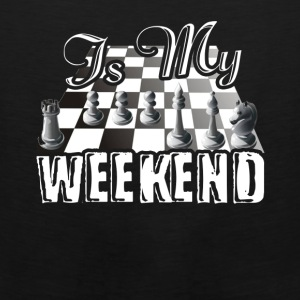 This Is My Weekend Chess Tshirt - Men's Premium Tank