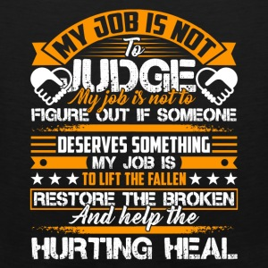 Social Worker Help The Hurting Heal Shirt - Men's Premium Tank