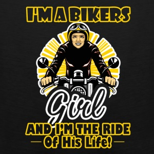 Biker Ride Of His Life Shirt - Men's Premium Tank