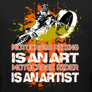 Motocross riding - Men's Premium Tank