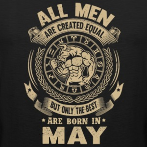 The best are born in May men shirt - Men's Premium Tank