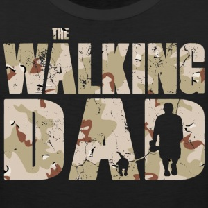 The walking DAD camouflage used look mens T-Shirt - Men's Premium Tank