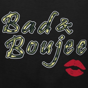 Bad And Boujee Camo Red lips - Men's Premium Tank