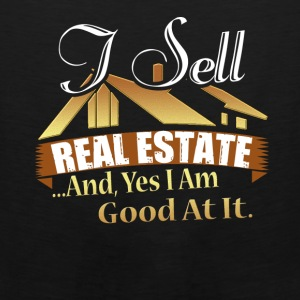 Real Estate Agent Tee Shirt - Men's Premium Tank