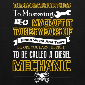 Diesel Mechanic Shirt - Men's Premium Tank