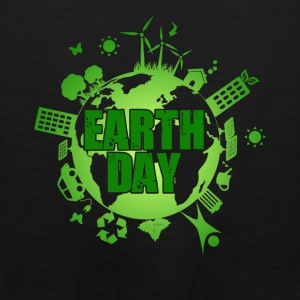 Earth Day Tee Shirt - Men's Premium Tank