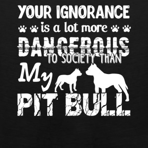 Pitbull Shirts - Men's Premium Tank