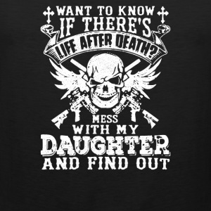 Is There Life After Death - Men's Premium Tank
