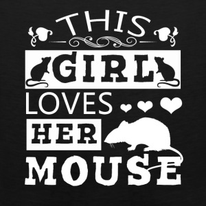 This Girl Loves Her Mouse Shirt - Men's Premium Tank