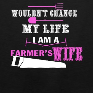 Farmer Wife Tee Shirt - Men's Premium Tank