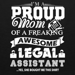 Legal Assistant Mom Shirt - Men's Premium Tank
