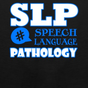 speech language pathologist shirt - Men's Premium Tank