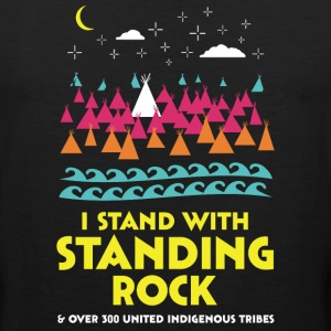 Stand With Standing Rock Shirt - Men's Premium Tank
