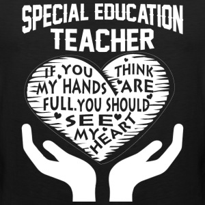 Special Education Teacher - Men's Premium Tank