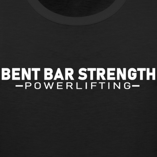 Bent Bar Strength Powerlifting - Men's Premium Tank